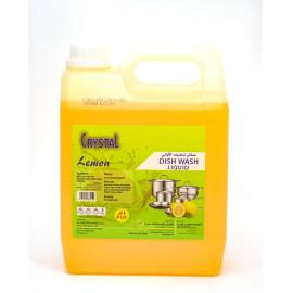 CRYSTAL DISH WASH LIQUID LEMON 4 LTR ( 4 Pieces Per Box )