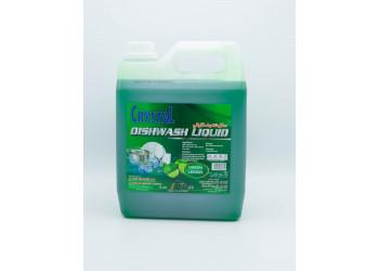 Crystal Dish Wash Green Lemon 4 Ltr ( 4 Pieces Per Box )