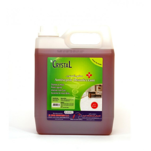 Crystal Antiseptic Disinfectant 4 Ltr (4 pieces per box)