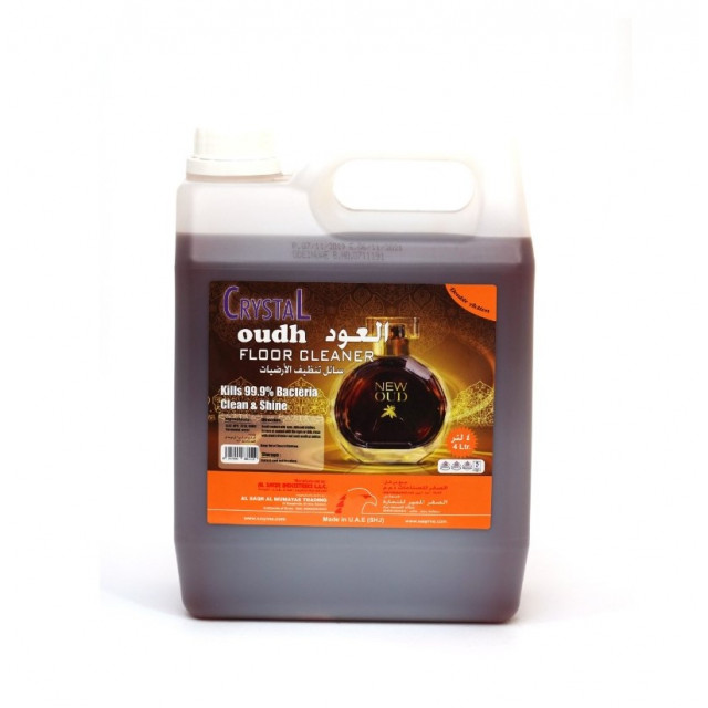 CRYSTAL FLOOR CLEANER OUDH 4 LTR ( 4 Pieces Per Box )