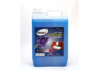 KLEAN-X FLOOR CLEANER LAVENDER 5 LTR  ( 4 Pieces Per Box )
