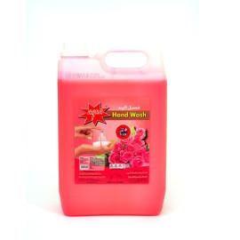 AQUA HAND WASH LIQUID ROSE 5 Liter ( 4 Pieces Per Box )
