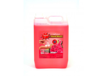 AQUA HAND WASH LIQUID ROSE 5 Liter ( 4 Pieces Per Box )