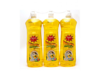 AQUA DISH WASH OFFER PACK  1 Liter X 3  (4packs per box)
