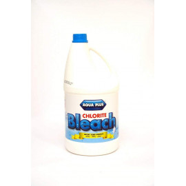 AQUA PLUS CHLORITE BLEACH 1 GALLON ROUND ( 6 Pieces Per Carton )