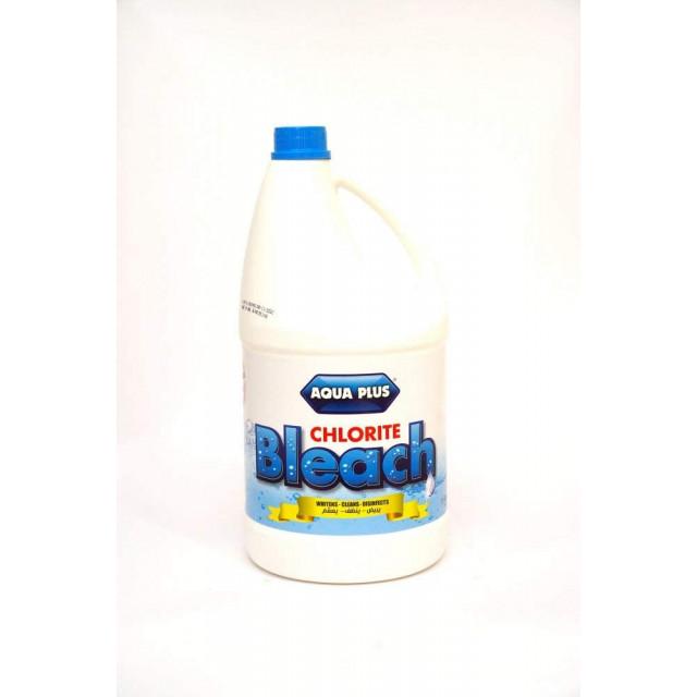 AQUA PLUS CHLORITE BLEACH 1 GLN ROUND (6 pcs per carton)