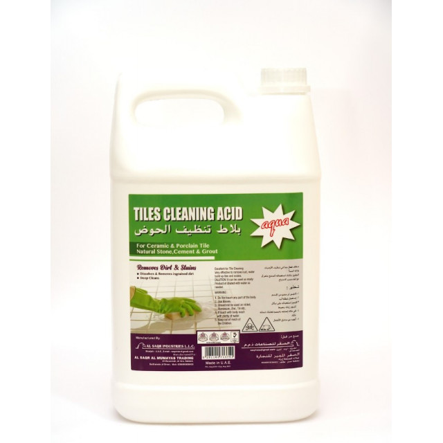 AQUA TILE CLEANING ACID 1 Gallon (4pcs per carton)