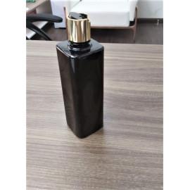 500ml Disc Top Cap Square Bottle (Black)