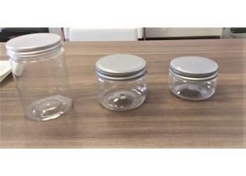 Plastic Jar with Aluminum Cap