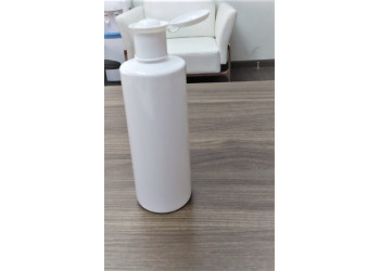 500 ml Cylindrical Bottle (white)