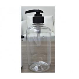 500ml Lotion Pump Bottle (transparent)