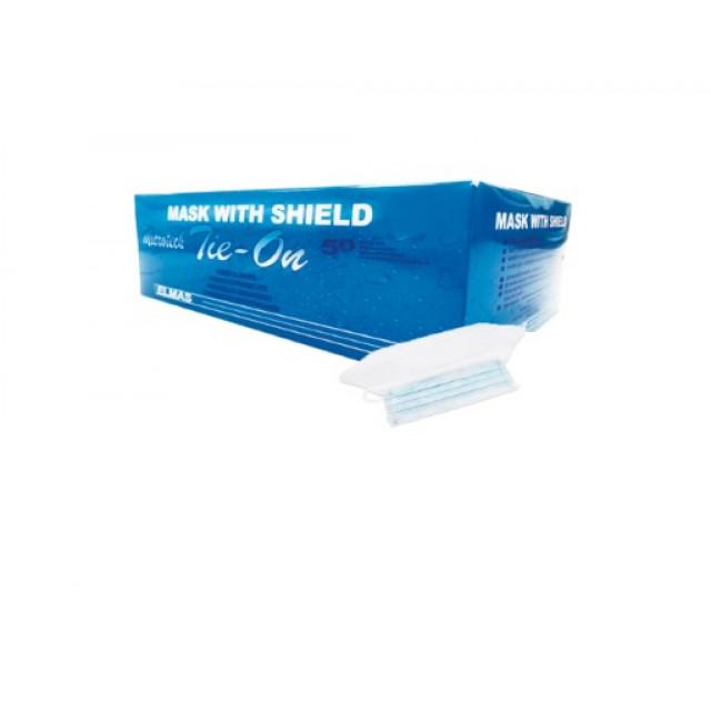 Mask With Shield ( 50 Box Per Carton )