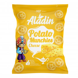 Aladin Potato Munchies – Cheese 15 grams (60 pieces per carton)