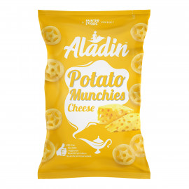 Aladin Potato Munchies – Cheese 60 grams (16 pieces per carton)