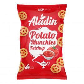 Aladin Potato Munchies – Ketchup 60 grams (16 pieces per carton)