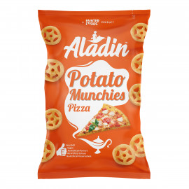 Aladin Potato Munchies – Pizza 60 grams  (16 pieces per carton)