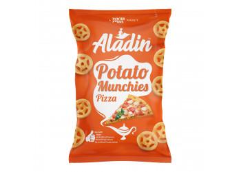 Aladin Potato Munchies – Pizza 60 grams  (16 pieces per carton)