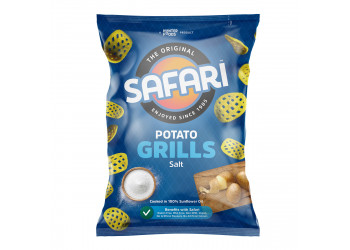 Safari Potato Grills – Salt 60 grams (16 pieces per carton)