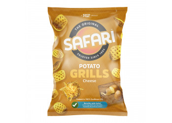 Safari Potato Grills – Cheese (60gm)
