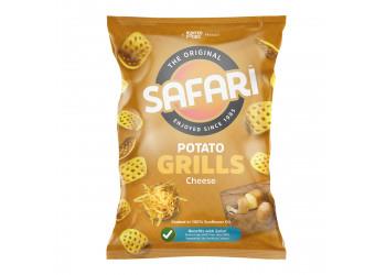 Safari Potato Grills – Cheese 60 grams (16 pieces per carton)
