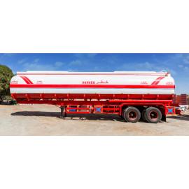 Tanker Semi Trailer 02 Axles Capacity 11000 Gallons