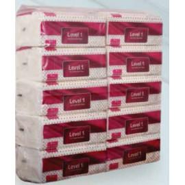 Level 1 Facial Tissue 10 Packs X 5 Strips per Carton