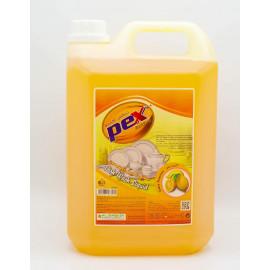 Pex Active Dish Wash Liquid Lemon 5 Liter ( 4 Pieces Per Carton )