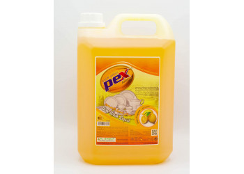 Pex Active Dish Wash Liquid Lemon 5 Liter ( 4 Pieces Per Carton )