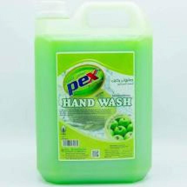 Pex Action Hand Wash Liquid Apple 5 Liter ( 4 Pieces Per Carton )