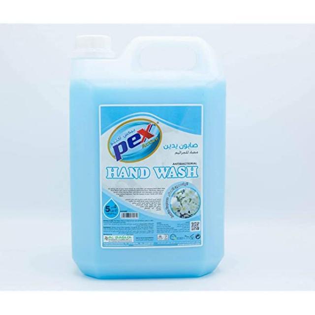 Pex Active Hand Wash Liquid Jasmine 5 Liter ( 4 Pieces Per Carton )