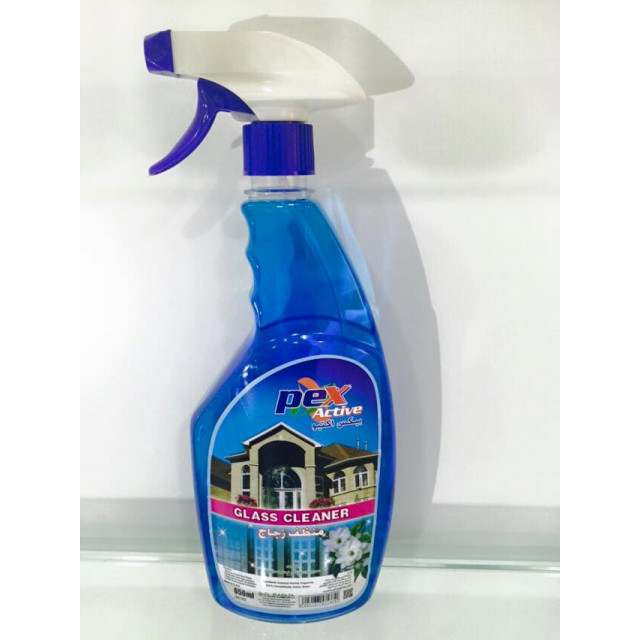 Pex Active Glass Cleaner  Jasmine 650 ML ( 12 Pieces Per Carton )
