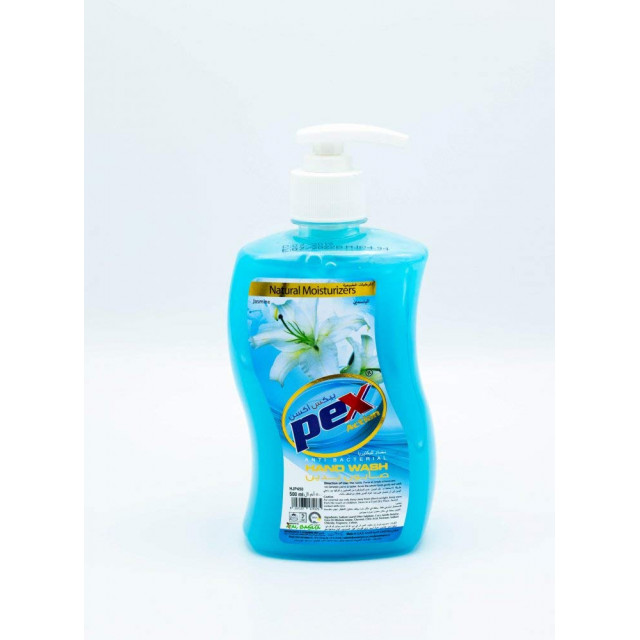 Pex Action Hand Wash Liquid Jasmine 500 ML ( 24 Pieces Per Carton )