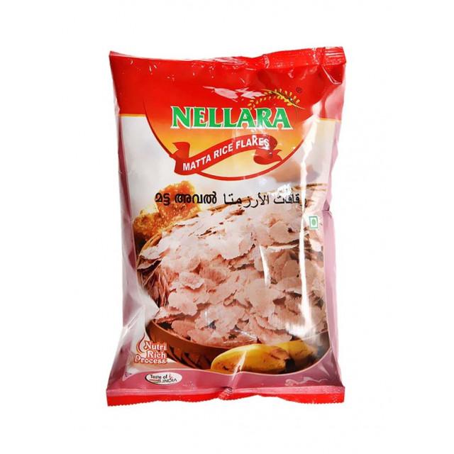 NELLARA MATTA RICE FLAKES 500 grams (piece)