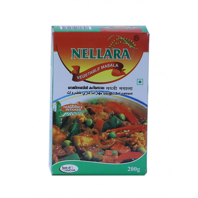 Nellara Vegetable Masala 200 grams (piece)