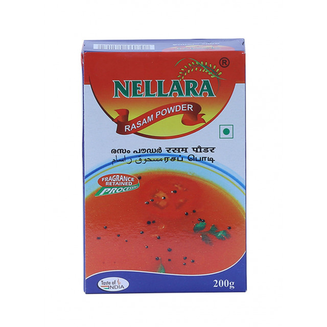 NELLARA RASAM POWDER 200 grams (piece)