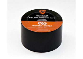 Gulf-O-Flex PVC Tape 2'' 60 feet/18 meter Black (60pcs per box)
