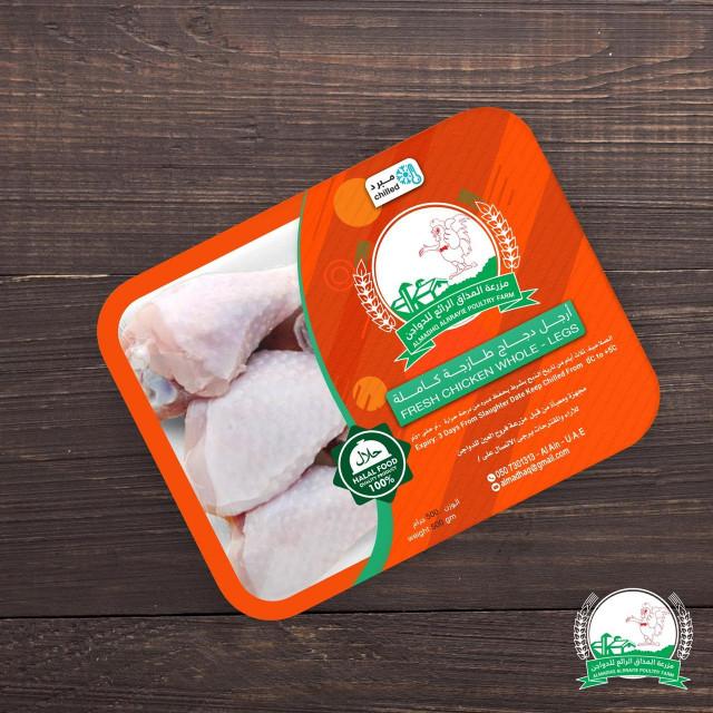 Fresh Chicken Whole-Legs 500g