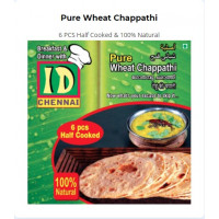 Pure Wheat Chappathi (6pcs per pack)