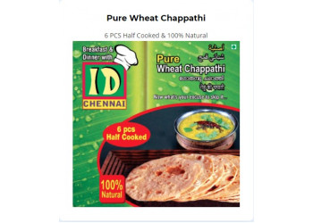 Pure Wheat Chappathi