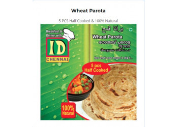 Wheat Parota (5pcs per pack)