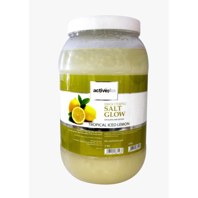 ActivePlus Salt Glow Tropical Iced Lemon 5kg (4 pieces per carton)