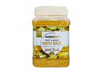 ActivePlus Gold Dust Bath Salt 3kg (6 pieces per carton)