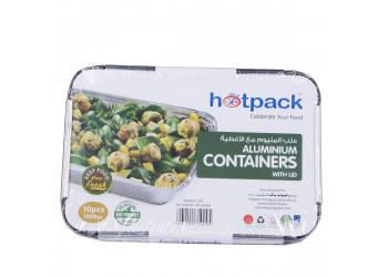 Hotpack aluminium container 83190 1900 ml / 1900cc - 10pcs (12 packs per carton)