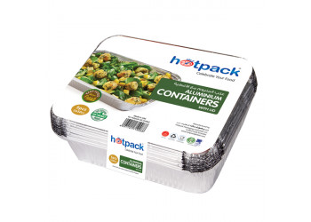 Hotpack aluminium container 73365 3650ml / 3650cc - 5pcs (12 packs per carton)