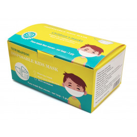 CHILDREN'S FACE MASK 3 PLY NON WOVEN WITH EAR LOOP (5 DESIGNS IN ONE BOX) | 50 PIECES