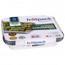 HOTPACK-5+1 PIECES 1200 ML ALUMINUM CONTAINER ( 32 Packets Per Carton )