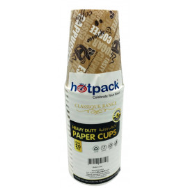HOTPACK - 20 PIECES HEAVY DUTY PAPER CUP 12 OUNCE ( 20 Pack Per Carton )