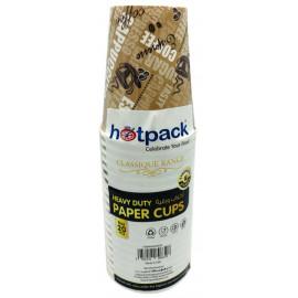 HOTPACK HEAVY DUTY PAPER  CUP 8 OZ 20 PCS ( 30 Pieces Per Carton )