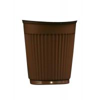 Hotpack-coffee cup 4 oz. brown - 100pcs (20 packs per carton)