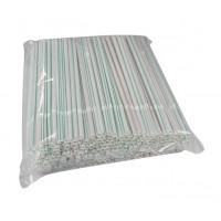 Hotpack-flexible straw 6mm, 250pcs (40 packs per carton)